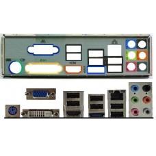ATX Blende I/O shield MSI 760GM-E51 #270 880GM-E43 io schield NEU OVP 785GM-E51