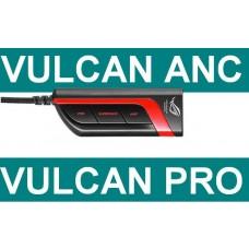 Asus cable Kabel Regler Lautstaerke Vulcan ANC Proeadset Kopfhoerer Vulkan NEU