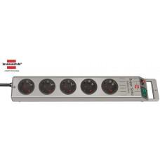 Brennenstuhl Super-Solid-Line Steckdosenleiste 5-fach silber 2.50m H05VV-F 3G1.5