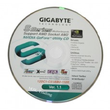 original gigabyte Mainboard Treiber GA-M61SME-S2 M61P-S3 CD DVD AM2 Windows ~13