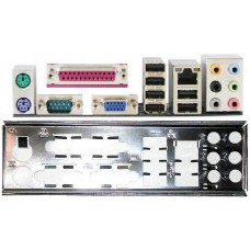 ATX Blende Gigabyte i/o shield GA-EQ45M-S2 NEU #165 io backplate bracket 1509