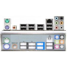 ATX Blende I/O shield Gigabyte GA-X58-USB3 #515 io backplate bracket OVP NEU