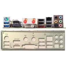 ATX Blende i/o shield Zotac Fusion ITX #491 NEU io backplade bracket NEW bracket