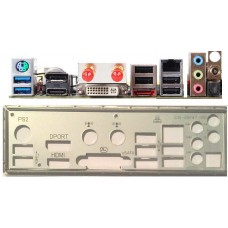 ATX Blende i/o shield Zotac Fusion ITX Fusion350-B-U #681 NEU io 350 NEW bracket