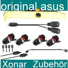 Zubehör Asus Xonar Soundkarte Chinch optisch Midi Karte Board Toslink NEU Klinke